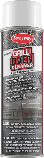 826 GRILL & OVEN CLEANER HEAVY DUTY AEROSOL