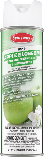 161 APPLE BLOSSOM AEROSOL ODOR COUNTERACTANT