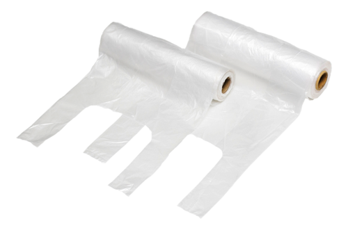 HDRL23 T-SHIRT PRODUCE BAGS 8 ROLLS OF 600/CASE