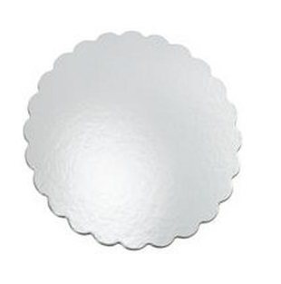"070-12RSS-CS 12"" RND .070 SILVER CAKE BOARDS 150/CASE"
