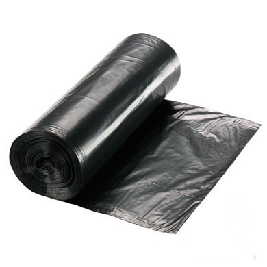 30 X 38 GARBAGE BAGS ROLL BLACK EXTRA STRONG 100/CASE