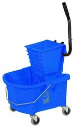 226-312BL MOP BUCKET WITH WRINGER BLUE