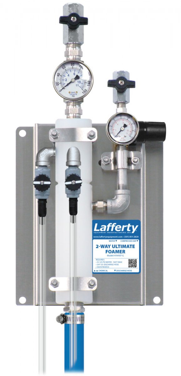 LAFFERTY 2 WAY ULTIMATE  FOAMER W/GAUGES 914107-G