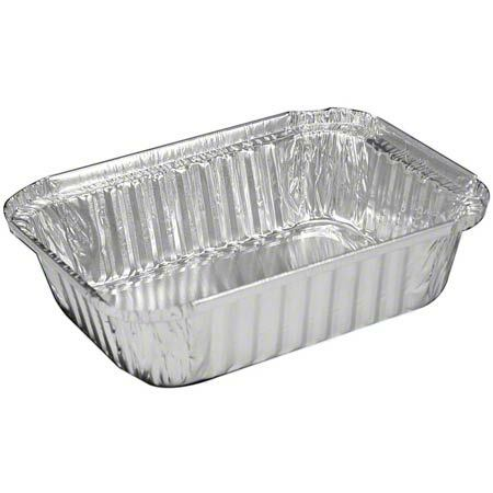 4.75X5.75 1LB OBLONG FOIL  CONTAINER 1000/CS